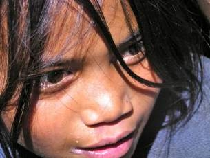 ENFANT DE NAGARKHOT - NEPAL