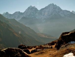 THAMSERKU DEPUIS LA VALLEE DU GOKYO - NEPAL