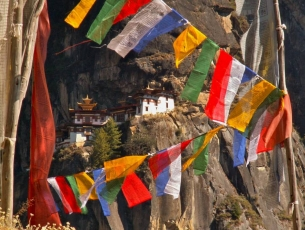 MONASTERE DE TAKTSANG - BHOUTAN