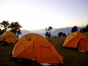 CAMP DANS LE SOLO KHUMBU - NEPAL