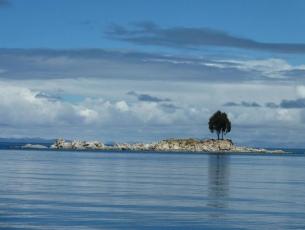 LAC TITICACA - COPACABANA BAY BOLIVIE