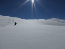 Descente de la Gratte, Les Ménuires, 3 Vallées, Savoie
