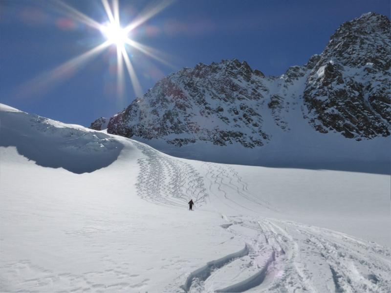 Glacier de Gebroulaz, Méribel, 3 Vallées, Savoie