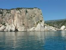 Grimpe à Cala Luna, Sardaigne