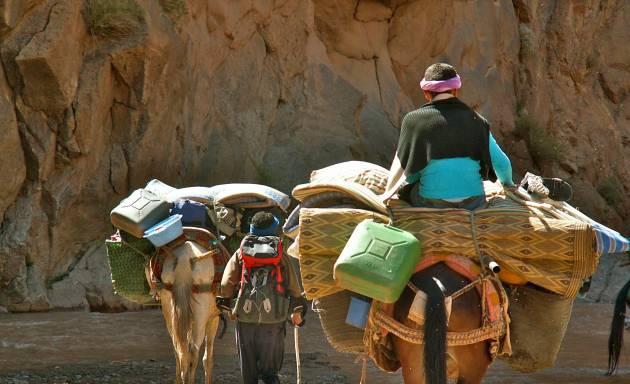 Grande traversée de l'Atlas Marocain