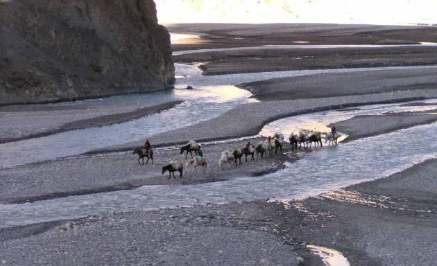Le voyage en famille au Mustang