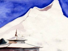 Le voyage artistique - Petits balcons des Annapurna