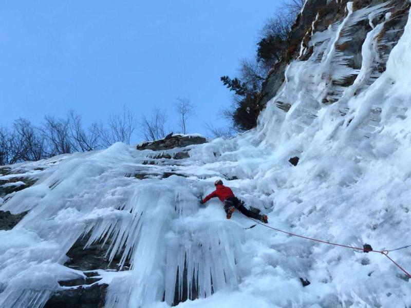 Activité cascade de glace