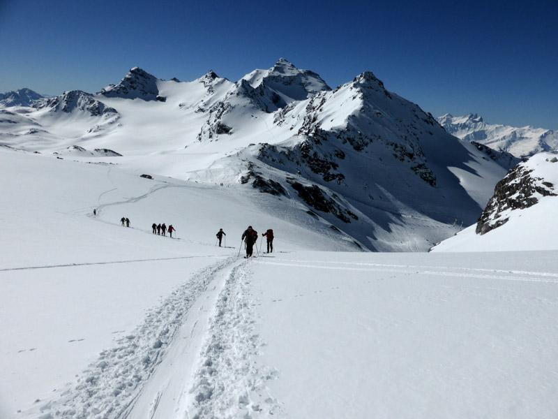 Activité raid à ski