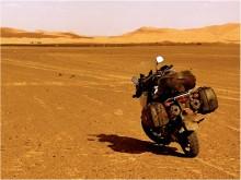Atlas et désert marocain en moto