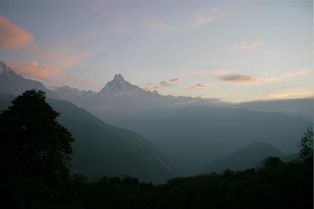Machapuchare, Népal