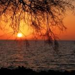 Coucher de soleil, Sicile