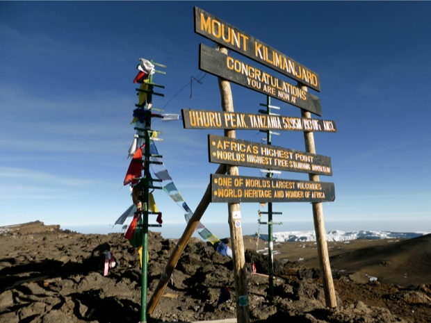 Sommet du Kilimanjaro, Tanzanie