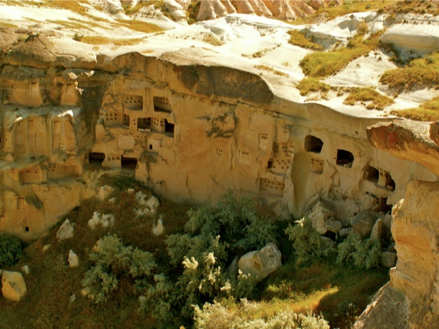 Ville troglodyte, Cappadoce, Turquie