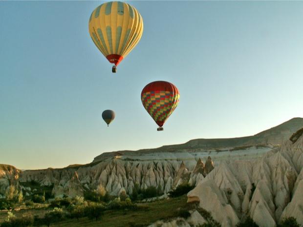 Vol en montgolfière, Cappadoce