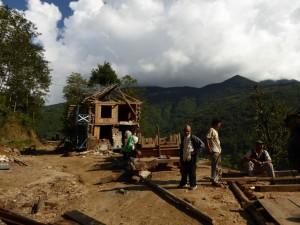 Entre Deurali et Shivalaya, Solu, Népal